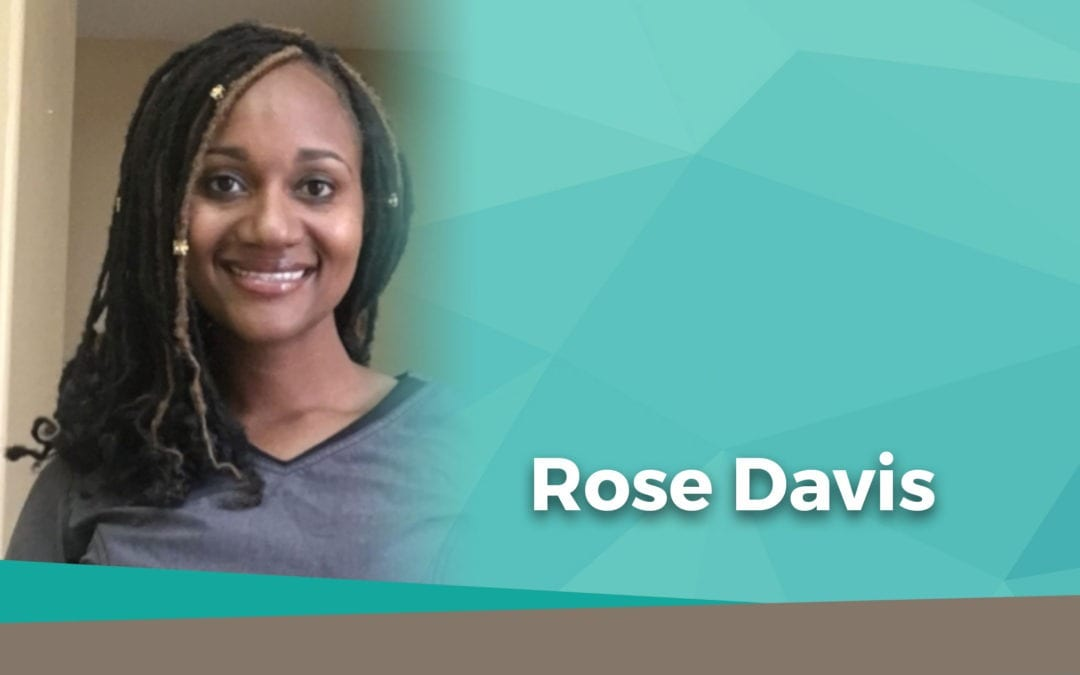 Rose Davis Palmeira Superhero for National Skilled Nursing Week